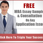 Download Free Sample Essays For MBA Admissions