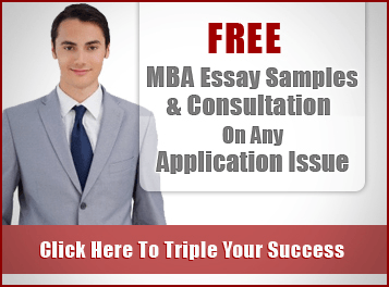 Mba application weakness essay